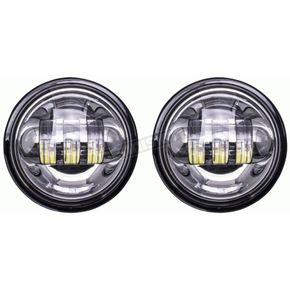 Silver 4 1/2 in. LED Auxiliary Lights - BC-451S