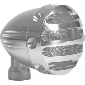 West Eagle Polished ER Mini LED Finned Tail Light - 5919-AL