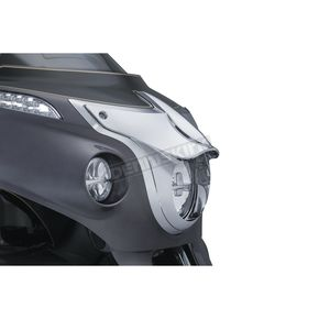 Kuryakyn Chrome Signature Series Headlight Bezel - 5682
