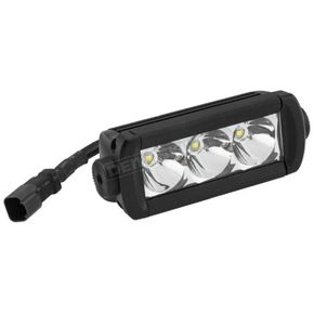 Quadboss 5.5 in. Single Row Hi Lux LED Light Bar - 12093S