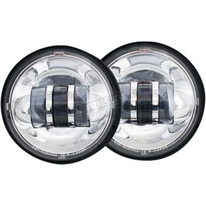 Chrome 4 1/2 in. LED Passing Lamps - LED-135