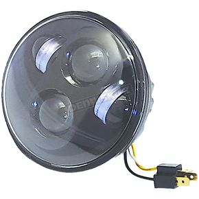 Black 5 3/4 in. High Definition LED Headlight - HD5MB