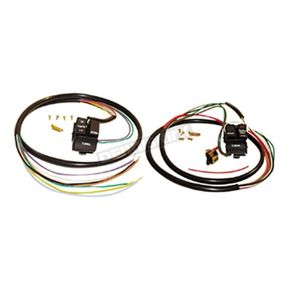 Handlebar Switch Wiring Kit w/Black Switches - 12068