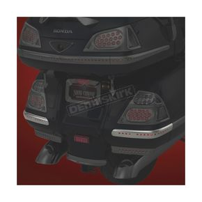 Chrome LED Martini Saddlebag Corner Lights - 52-793