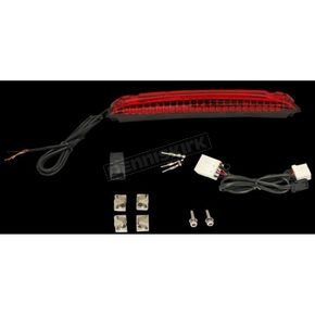 Luggage Rack LED Light Bar w/Red Lens - CD-LR-02-R