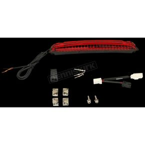 Luggage Rack LED Light Bar w/Red Lens - CD-LR-03-R