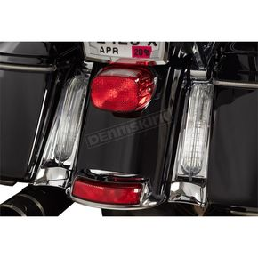Rear Chrome Filler Panel Light - 40047