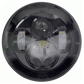 Black 7 in. Round Headlight - BC-701B