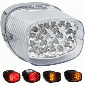 Clear Taillight w/Turn Signals - BC-HDTL4