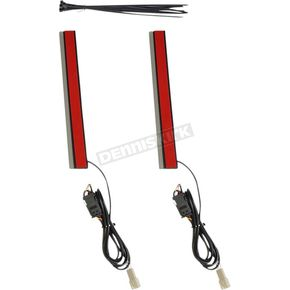 8 in. Plug & Play Red Plasma Rods - PR-PLUG-R-8