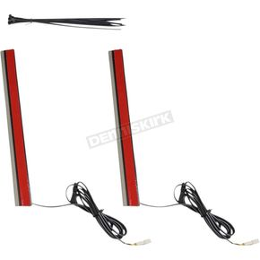 10 in. Plug & Play Red Plasma Rods - PR-PLUG-R-10