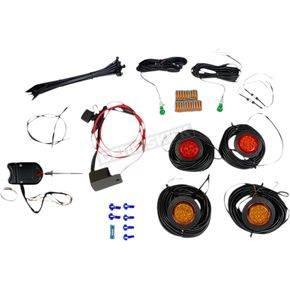 Universal LED Turn Signal Kit w/Steering Column Switch - CD-UTV-ARTS-KIT
