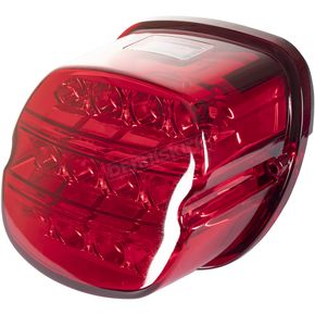 Red Xtreme LED Taillight w/Plate Light - HW307022