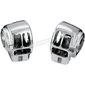 Kuryakyn Chrome Switch Housing - 7806