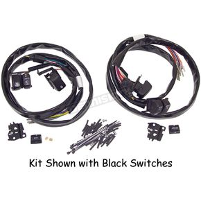 V-Factor Black Handlebar Switch Kit - 12045