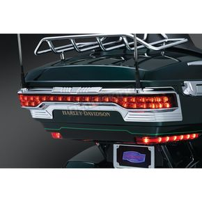 Chrome Tri-Line Accent for Rear Tour-Pak Light - 6910
