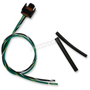 NAMZ Custom Cycle Products OEM Type Connector w/Wire Pigtail - PT-12162215-B