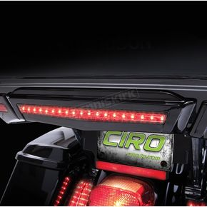 Ciro Black Center Brake Light For Tour-Pak® - 40005