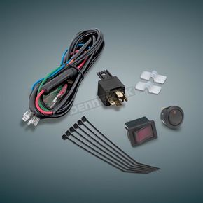 Show Chrome Universal Driving Light Wiring Kit - 16-126