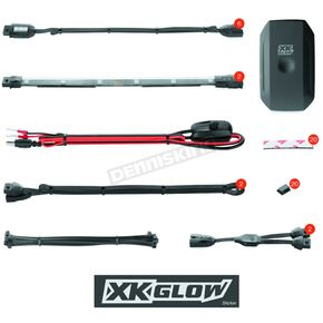 XK Glow App Controlled XKchrome Mini Kit - KS-MOTO-MINI