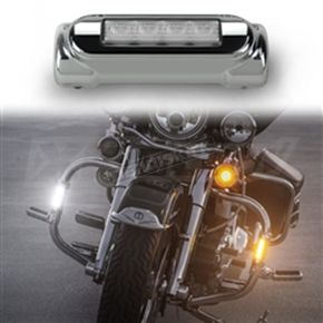 Chrome Highway Bar Lights - XK034014-W