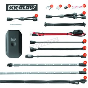 App Controlled LED Light Kit - XK-UTV-ADV