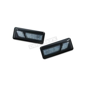 Kuryakyn Gloss Black LED Front Reflectors - 7448
