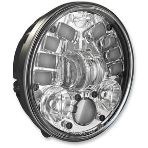 J.W. Speaker Chrome Model 8691 LED 5 3/4