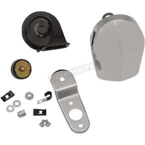 Drag Specialties Chrome Electric Horn Kit  - 2107-0245