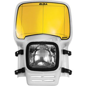 Acerbis White Elba II Headlight - 2633050002