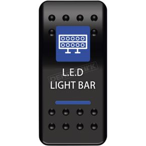 Dash Mount LED Lightbar Rocker Switch - 0616-0328