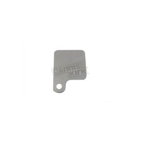 V-Twin Manufacturing Stainless Steel 1/2 in. Inspection Tag Holder - 31-0201