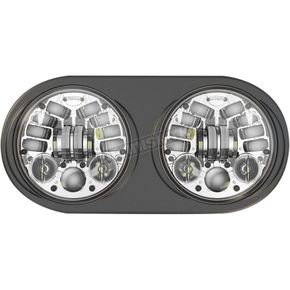 J.W. Speaker Chrome 5 3/4 in. LED Headlight - 0553961