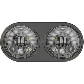 J.W. Speaker Black 5 3/4 in. LED Adaptive Headlight - 0553691