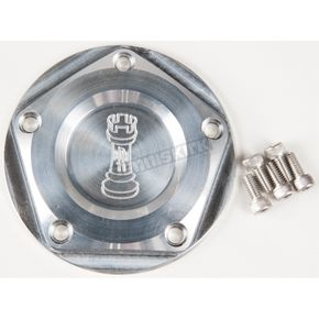 Rooke Customs Raw Ignition Cover - R-C1605-TA