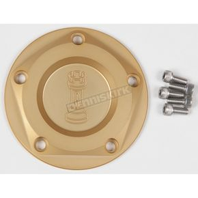 Rooke Customs Gold Ignition Cover - R-C1605-T6