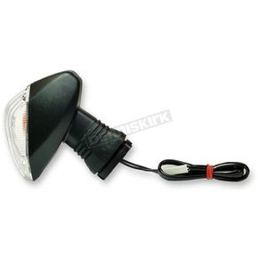 Front Right/Rear Left DOT-Compliant Amber Turn Signal w/ Clear Lens - 25-2305C