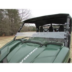 Seizmik Two-Side Hard Coated Polycarbonate Half Windshield - 25016