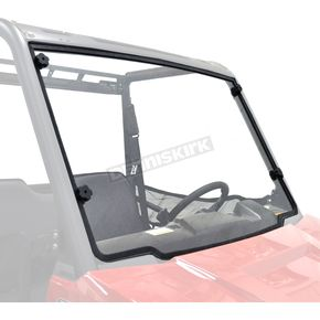 Kolpin Clear Full-Fixed Windshield - 2748