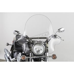 Slip Streamer 20 in. Clear SS-32 Falcon Windshield for 42-58mm Fat Fork Tubes - SS-32-20CF