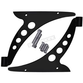 Covingtons Customs Black Crash Bar Bracket Eliminator/Fairing Support Brackets - C0049-B