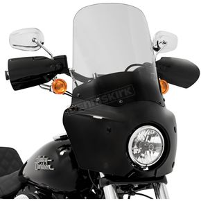 Memphis Shades Road Warrior 17 in. Ghost  Windshield - MEP87008
