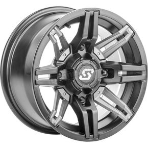 Sedona Front/Rear Rukus 14x7 Wheel - 570-1273