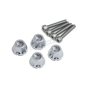 Chrome Windshield Screw Set - 5721