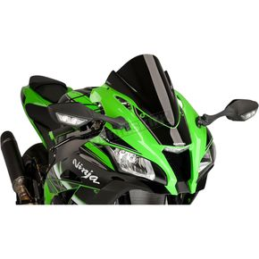Black Racing Windscreen - 8912N