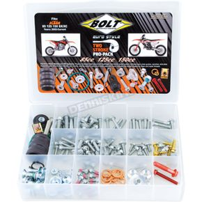 Bolt Motorcycle Hardware Euro Pro Pack Bolt Kit - EUPP-85/150
