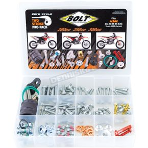 Bolt Motorcycle Hardware Euro Pro Pack Bolt Kit - EUPP-200/300