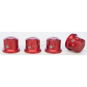 Rooke Customs Red Headbolt Covers - R-HBC01-R7