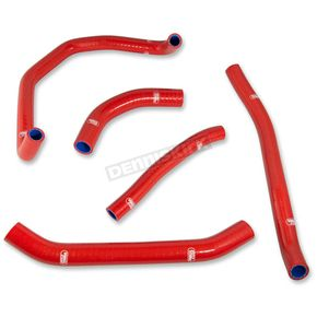 Moose Red Race Fit Radiator Hose Kit - 1902-1348