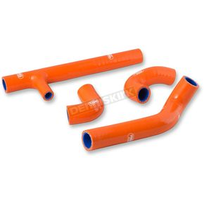 Moose Orange Race Fit Radiator Hose Kit - 1902-1358